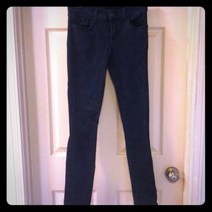 J Brand skinny leg atmosphere indigo blue jeans